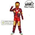 Мальчики Железный Человек Косплей Хэллоуин Костюм Карнавал Дети Мальчик Патриот Мышцы Мстители Ironman Super Hero Костюмы Подарок На День Рождения