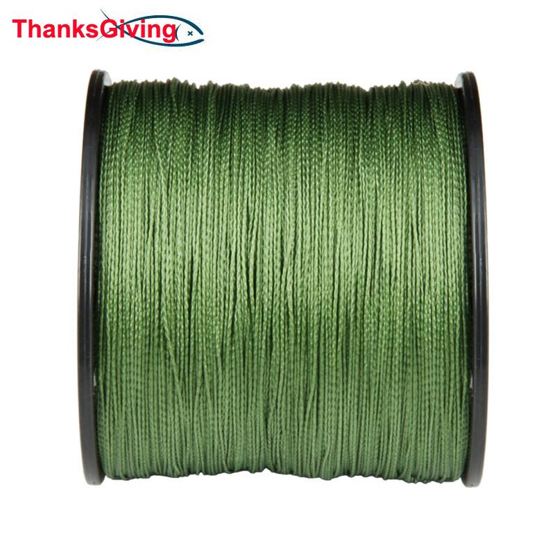 Thanksgiving Fishing Tackle 100M 8 Strands 8PLY Japan Multifilament PE Braided Fishing Line for Ice Fishing 60 80 120 150 200LB