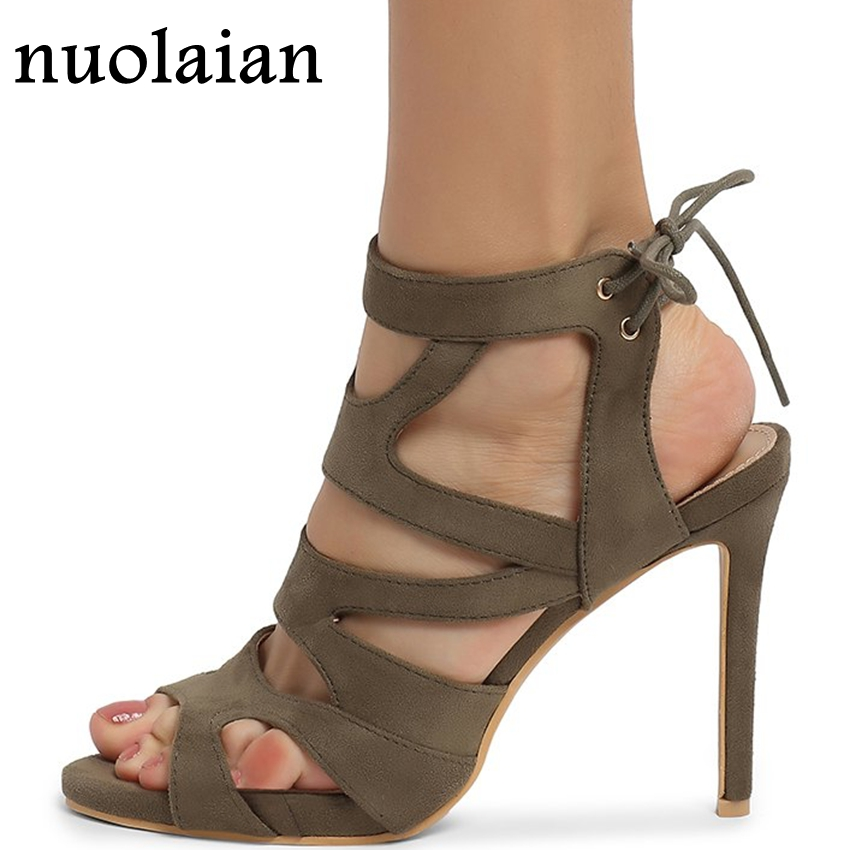 10.5CM Open Toe High Heel Shoes Women Platform Pumps Dress Ankle Strap High Heels Woman Summer Sandals Wedding Shoe цена