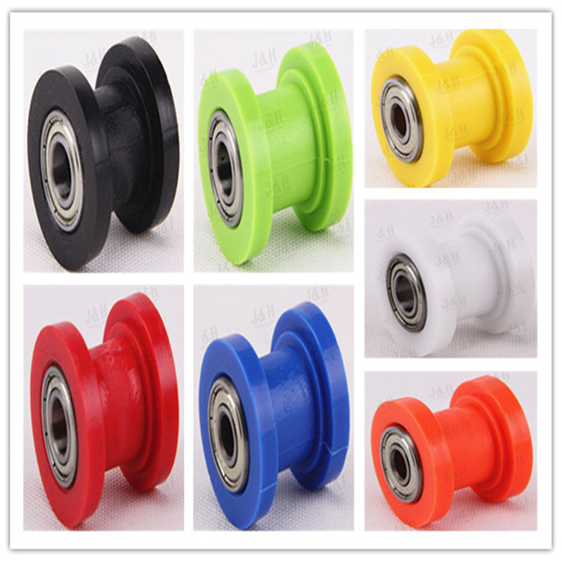 Concave Drive Chain Pulley Roller Slider Tensioner Wheel