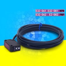 10 STKS E3Z D61 Fotocel Diffuse Reflecterende Optische Switch met Ingebouwde Versterker E3Z D62 E3Z D81 E3Z D82