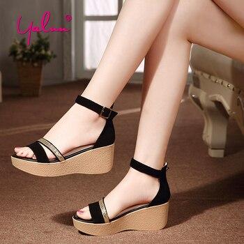 Altos Sandalias Plataforma De Tacones Zapatos Mujer Verano Zq7wpx Negros hQCtsrdx