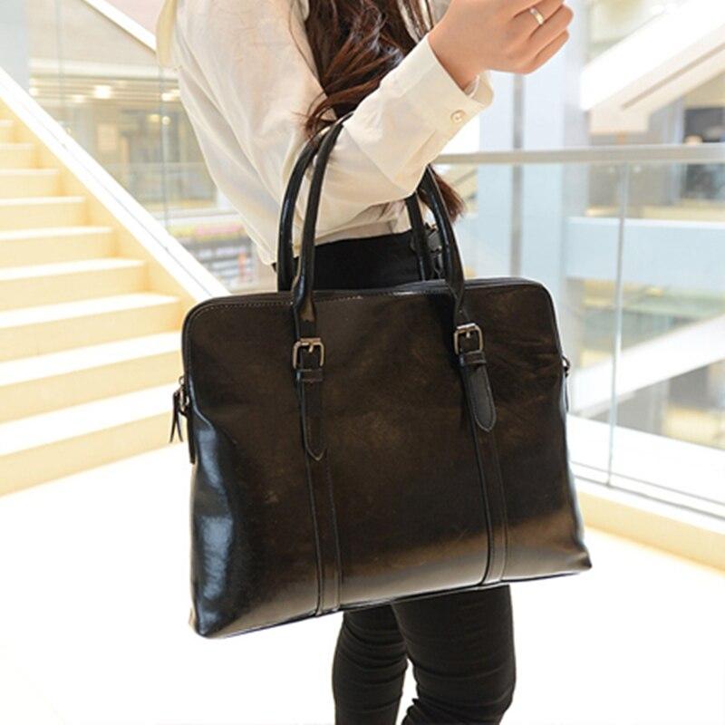 Повседневное кожа Для женщин Сумки дамы портфель плеча Сумки через плечо для Женский ПР Бизнес tote сумочка большой пакет Bolsas