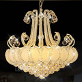 Crystal Chandeliers Living Room Chandeliers Crystal Lamps European Garden Chandeliers Creative Personality Restaurant Lights
