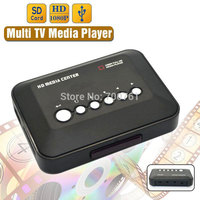 1080P USB 2 0 HD Multi TV Media Player SD MMC TV Videos YPrPb AV SD