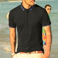 Brand Men's Polo Shirt For Men Polos Men Cotton Short Sleeve Shirt Hit color Jerseys Plus Size 2XL 2016 New
