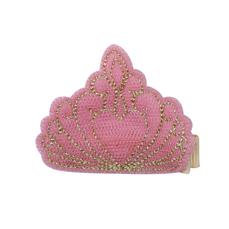 10pcs / lot hoge kwaliteit borduurwerk kroon haarspeldjes baby - Babykleding - Foto 6