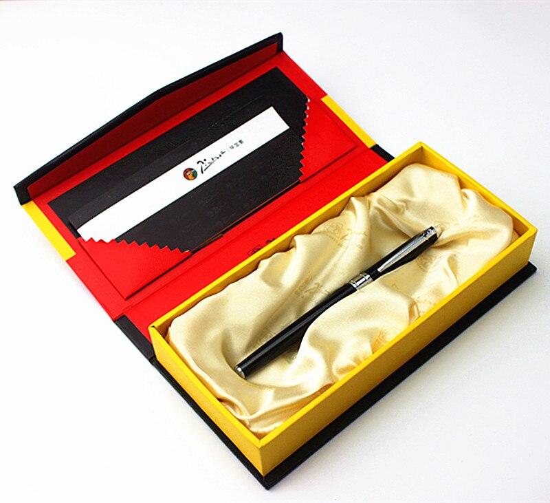 Picas 605 black roller pen gift box set exquisite pen pimio