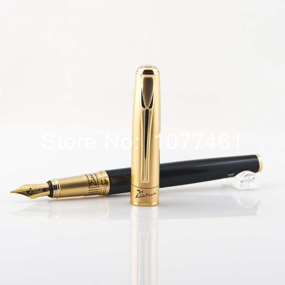 Original Picasso 906 matte gold matte silver fountain pen / ink pen pimio Clipart craft pen