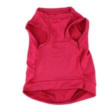 Модная красивая красная футболка для питомцев, собак, кошек, милых принцесс, одежда, жилет, летнее пальто, очаровательные костюмы для питомцев, D30JL26