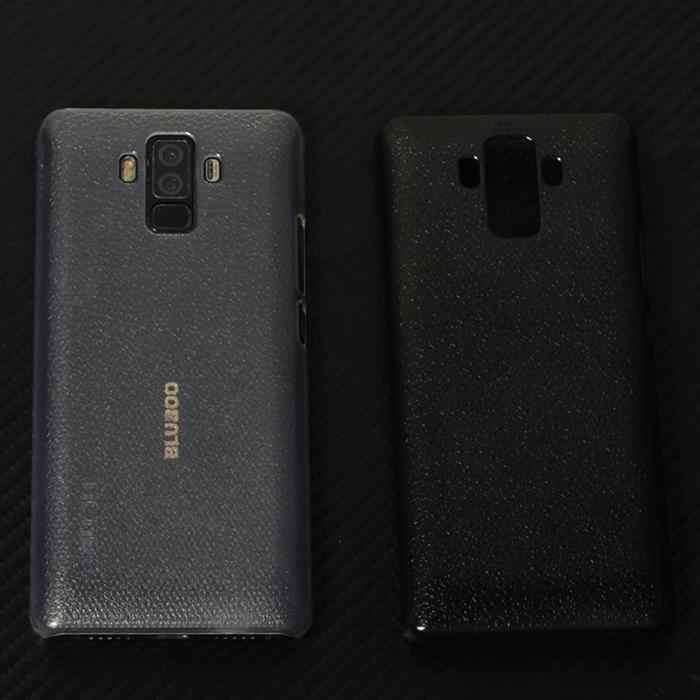 Funda protectora de teléfono sólida a la moda Unisex para Bluboo S3 transparente, gris