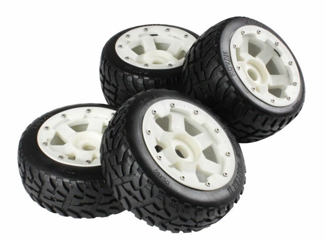 highway road wheel set nylon super star wheel hub for 1/5 Baja 5B SS 5b front highway road wheel set ts h95086 x 2pcs for 1 5 baja 5b wholesale and retail page 1