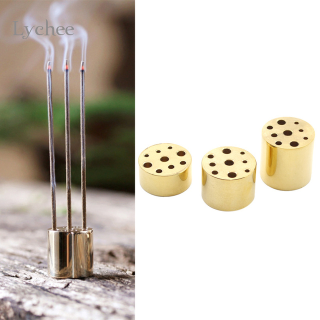 1 Piece Copper Incense Burner Stick Holder Stand Furniture Protection  Incense Base Aromatherapy Plate Home Decoration