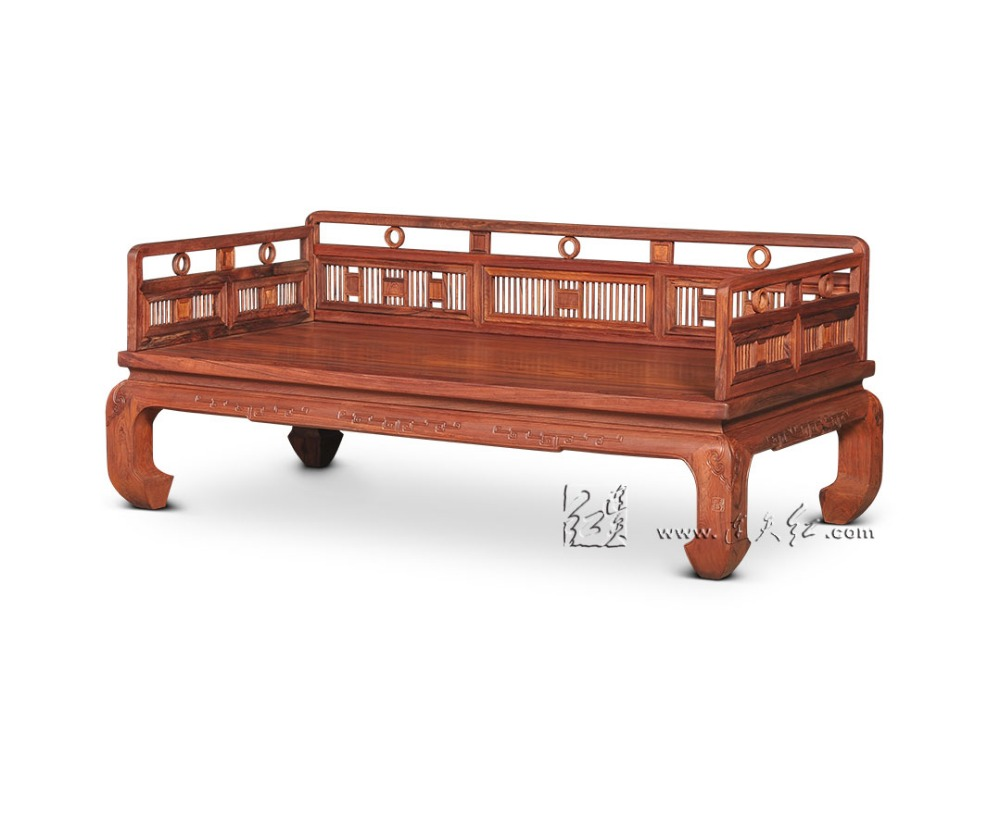 Online Shop Living Room Furniture Neoclassical Arhat Bed New Chinese Zen  Double Chair Beauty Couch Chaise Lounge Solid Wood Rosewood Sofa |  Aliexpress ...
