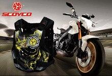 SCOYCO беговых мотоцикл броня мотоцикл броня Грудь Обратно поддержка Езда защитные устройства изготовлен из PP AM06 размер M L XL