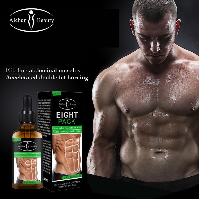 Aichun Powerful Abdominal Muscle Cream Six-pack Abs Male Shaping Cream Abdominal Muscle Strengthening Decompose Fat Tight Skin