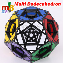 매직 큐브 퍼즐 mf8 dodecahedron 큐브 멀티 dodecahed megamin 컬렉션 마스터는 전문 교육 트위스트 완구해야합니다