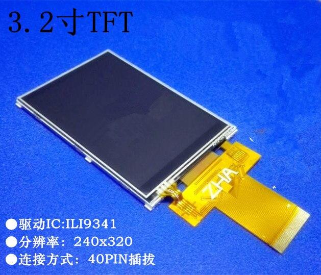 Noenname_null 3,2 Zoll Tft 240*320 Mit Touchscreen Ili9341 40pin 3/4-draht Spi Kompatibel 8bit/16bit Parallel Port Lcd Display äRger LöSchen Und Durst LöSchen Bildschirme