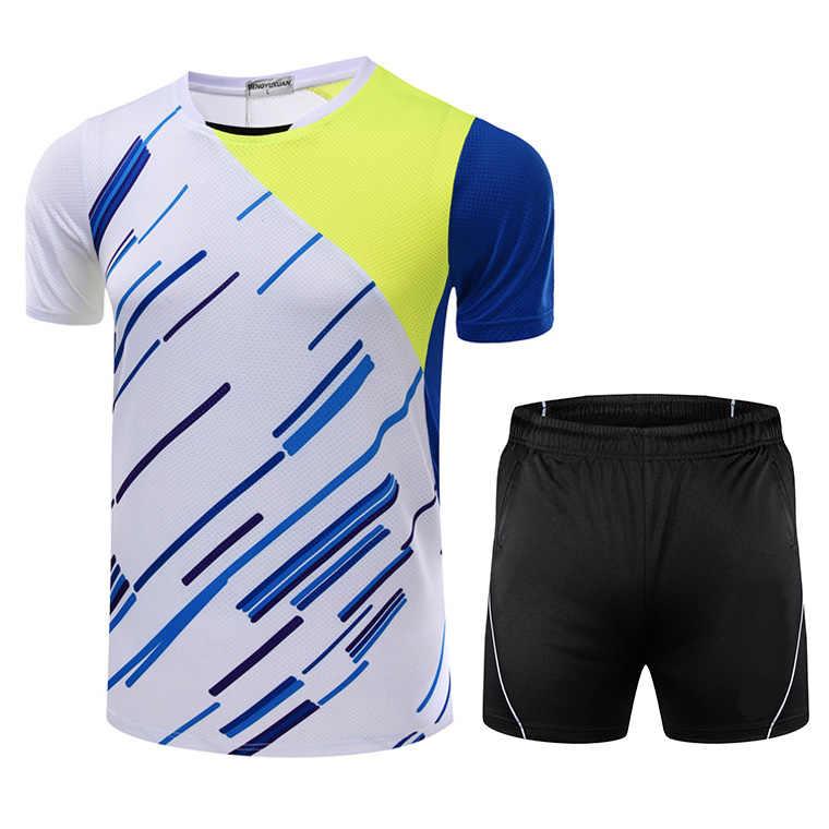 Новая кофта для бадминтона Мужская/Женская, спортивная одежда для бадминтона, комплект для бадминтона, настольные теннисные наборы 5050