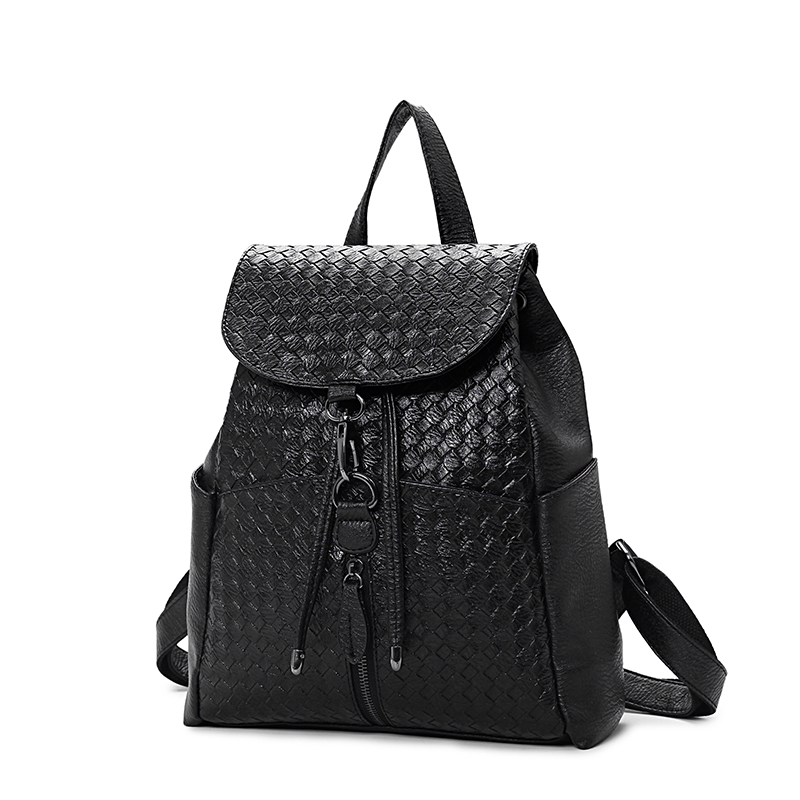 2017 Favocent Supreme Multicolor PU leather backpack women Waterproof Solid Business Women Backpack Leather Antitheft Women