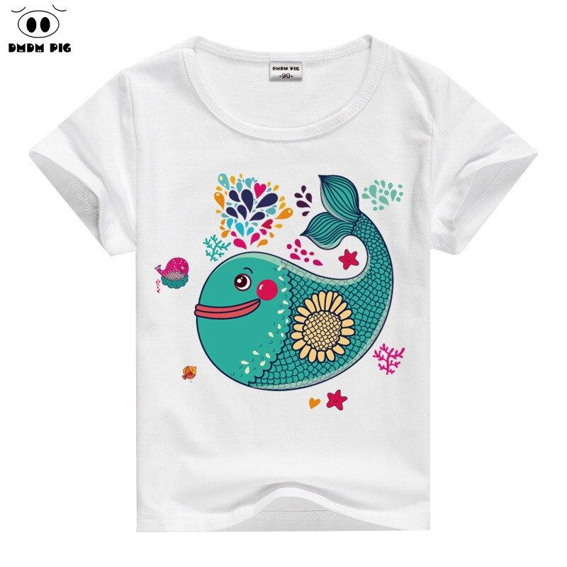 DMDM PIG Children TShirt Baby Boy Girl Clothes Tiny Cottons 2017 T-Shirts For Boys Teenage Girls Tops T Shirt Kids T-Shirt 10 12
