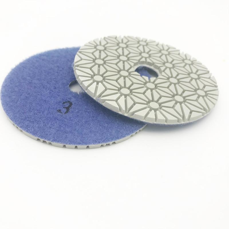 4 colių 100 mm deimantų drėgno / sauso poliravimo trinkelės 3 - Abrazyviniai įrankiai - Nuotrauka 4