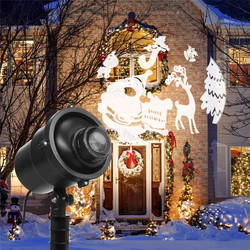 IP65 LED 3D bożonarodzeniowy projektor laserowy dla sportu na świeżym powietrzu ruchome krajobraz festiwale walentynki Party Bar ogrodowa dekoracja ślubna