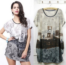 new 2019 women summer t shirt plus size clothing tops & tees sexy print short sleeve o-neck casual fashion tunic 5XL big large(China)