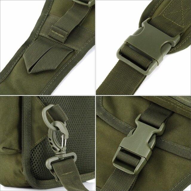 תיק כתף צבאי כולל נרתיק לאקדח 5