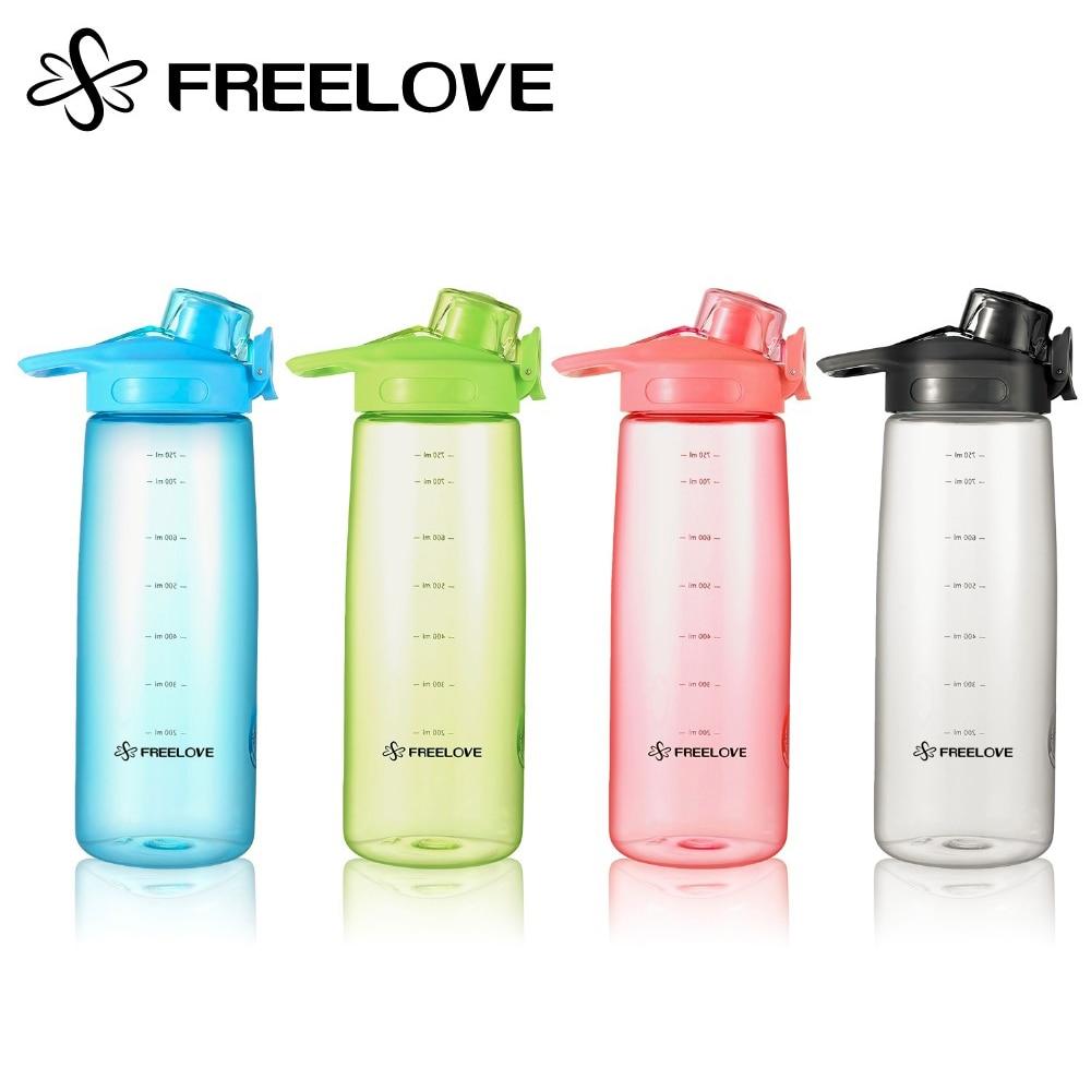 FREELOVE Dual Seal Lock Sport Holder 750ml Lahve na vodu FDA - Kuchyně, jídelna a bar