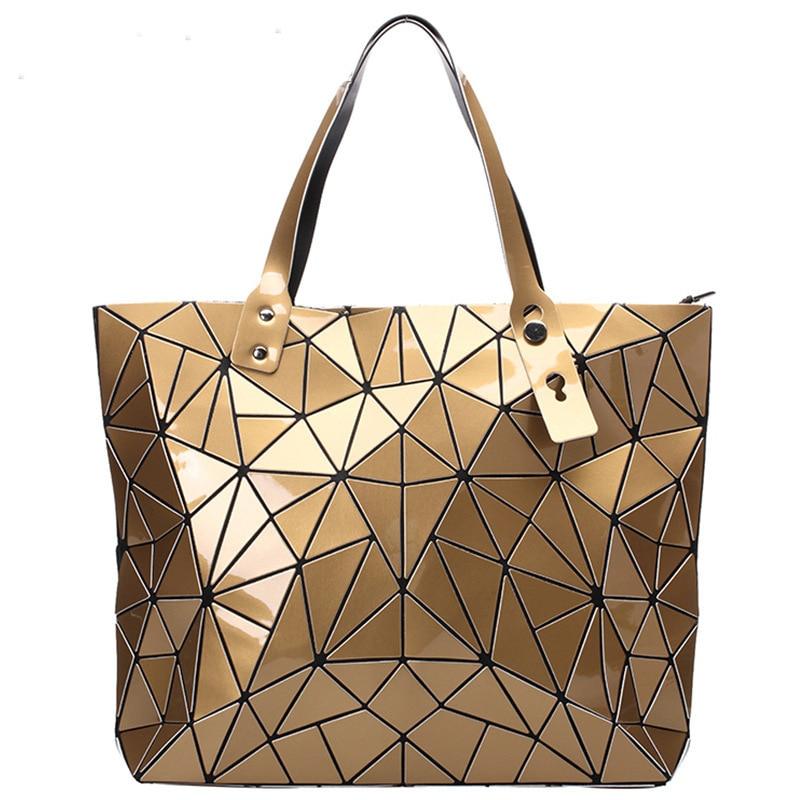 mensajero Top verano Bao Geometric bolso Moda bolsos Casual doblado t7YPwqA