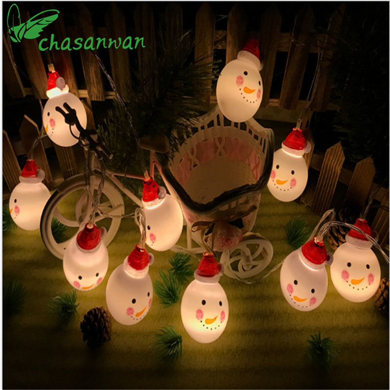 Event & Party Festive & Party Supplies Energetic 2pcs Snowman Head Lamp Shade Decoration Light Cover For Holiday Porch Festival Door Christmas
