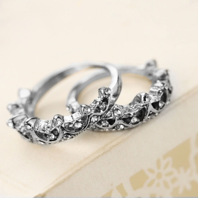 Princess Crown Ring New US Size 5 6 7 8 2