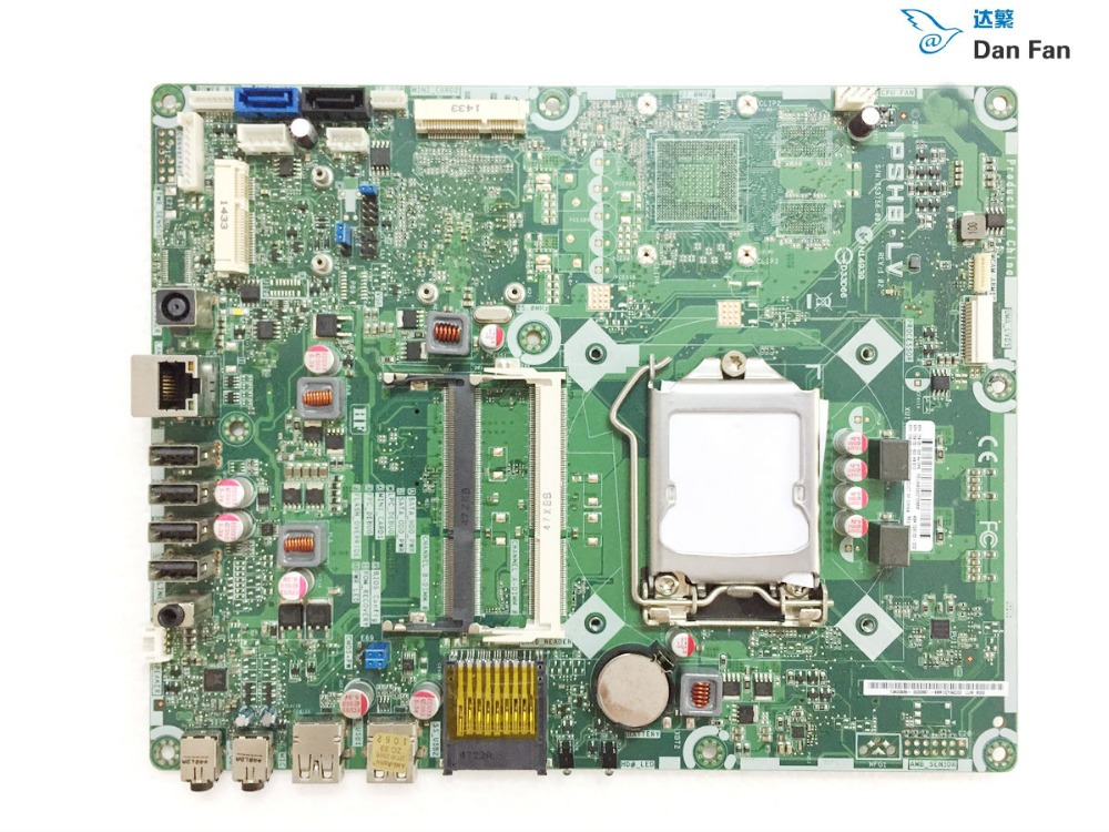 729132-002 For HP 20 AIO Motherboard 729132-502 IPSHB-LV Mainboard 100%tested Fully Work