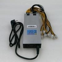 BTC LTC Шахтер питания AP188c 1800 W 12 V 6pin подходит для antminer S9 Z9 мини DR3 L3 T9 E3 Байкал G28 Innosilicon A8 + A9 D9