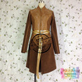 The Lord Of The Rings Legolas Adult Costume Cosplay the hobbit Costumes brown coat