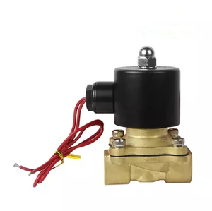 """Image 2 - Free Shipping Hot New 1/4"""",1/8"""",1/2"""",3/4"""",1"""",2"""", AC220V,DC12V/24V Electric Solenoid Valve Pneumatic Valve for Water Oil Air Gas"""