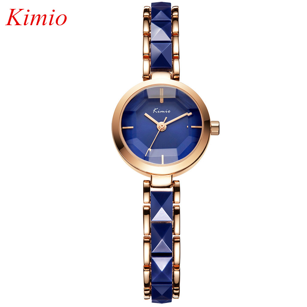 KIMIO Luxury Brand Fashion Women watch High quality Ceramic watches For women Water Resistant Ladies quartz