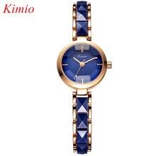 KIMIO reloj de Las Mujeres de Alta calidad de Marca de Moda de Lujo relojes de Cerámica Para las mujeres Señoras relojes de pulsera de cuarzo Resistente Al Agua Relojes