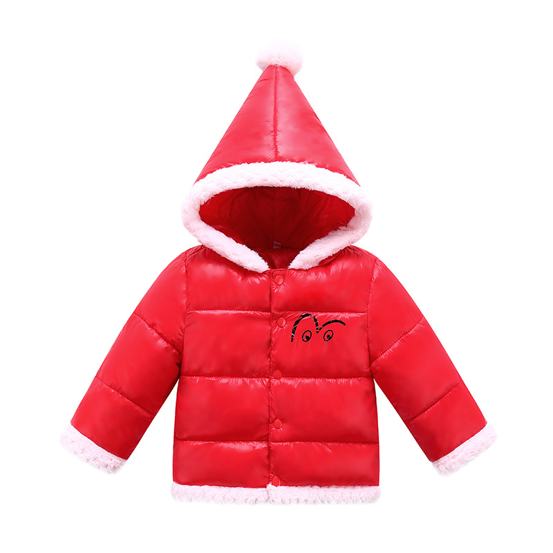 Winter Jacket For Girl Cotton Boy Down Jacket Outwear Cute Coat Windproof Girl Snow Jumpsuit Hooded Full Fashion Kids Clothing 2017 kids jacket winter for girl and coats duck down girls fluffy fur hooded jackets waterproof outwear parkas coat windproof
