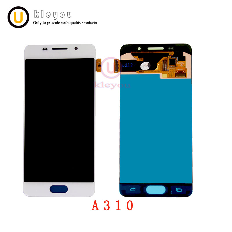 For SAMSUNG A310 2016 LCD Replacement For SAMSUNG GALAXY A3 2016 LCD A310 A310F SM-A310F Display Touch Screen Digitizer AssemblyFor SAMSUNG A310 2016 LCD Replacement For SAMSUNG GALAXY A3 2016 LCD A310 A310F SM-A310F Display Touch Screen Digitizer Assembly