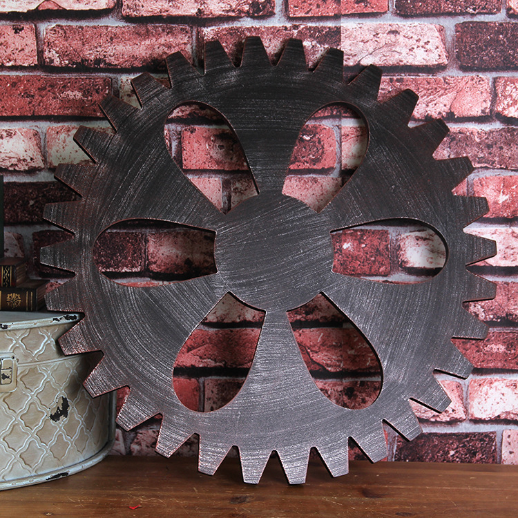 Retro Wall Pendant Gear Ornaments Industrial Gear Bar Decoration Mural Gear Wall Decoration Creative Ornaments Wall DesignRetro Wall Pendant Gear Ornaments Industrial Gear Bar Decoration Mural Gear Wall Decoration Creative Ornaments Wall Design