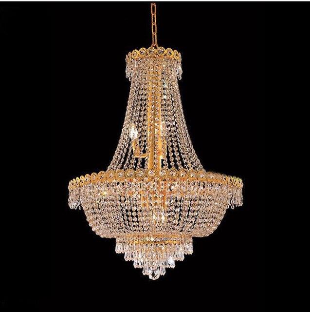 Phube Beleuchtung Französisch Reich Gold Kristall Kronleuchter Chrom  Kronleuchter Beleuchtung Moderne Kronleuchter Licht + Freies Verschiffen