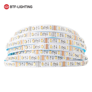5M 5050 RGBCCT 5 In 1 Led Strip Lights 12V RGB WW CW Led Strips Lighting Led Strip RGBW 6pin 60leds/m Ribbon Lamps IP30/65/67