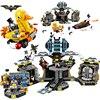 Bela 10636 Batman Movie Batcave Break In Man Bat Bricks Sets Building Block Toys Compatible Lepin