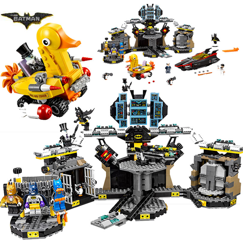 Bela 10636 Batman Movie Batcave Break-in Man-Bat Bricks Sets Building Block Toys Compati ...