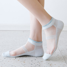 Women Patchwork Candy Colors Ankle Woman Socks Harajuku Fashions Girls Sock 1 Pair Thin Summer Pink