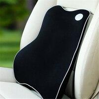 Hohe Qualität Raum Memory-schaum Auto Taille Kissen Sommer Auto Lendenwirbelsäule Kissen Taille Sitz Zurück Automotive Sicherheit Produkte