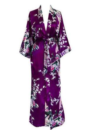 Ladies Kimono Robe 6