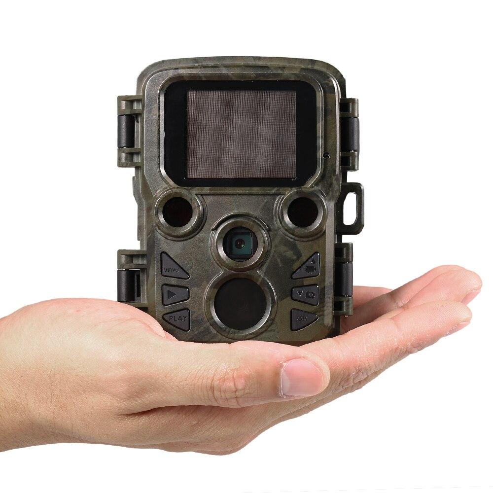 野生生物12mp 1080 pミニトレイルカメラフォトトラップ狩猟カメラ狩猟ゲームカメラ屋外野生生物スカウトカメラ付きpirセンサー  グループ上の スポーツ & エンターテイメント からの 狩猟カメラ の中 1